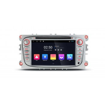 Radio Especifico Ford Focus II, S-MAX, Galaxy II, KUGA, Android 10, GPS.