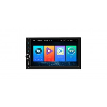 "Radio Coche 2din, Pantalla 7"" tactil, Carpaly y Android Auto, Android 10, GPS"