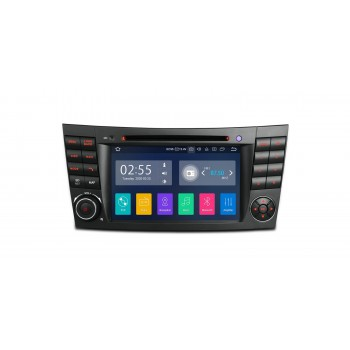 Radio Navegador Mercedes Benz Clase E W211 y CLS W219 Android 10, WIFI, GPS, Bluetooth, Carplay y Android Auto