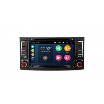 """Radio Coche Xtrons Android 10 LCD táctil 7"""" para VW Touareg y T5 Multivan, Carplay y Android Auto, GPS, WIFI"""