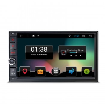 "Radio GPS LCD 7"" TACTIL 2DIN UNIVERSAL ANDROID 7.1 BLUETOOTH WIFI"