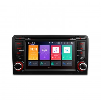 "Radio DVD GPS LCD TÁCTIL 7"" Audi A3 8P ANDROID 8.0 4Gb RAM CANBUS"